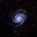 Pinwheel Galaxy HaLRGB,                                Jonathan Aranow