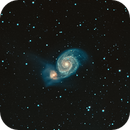 M51, The Whirlpool Galaxy,                                Lee Morgan