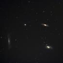 Tripletto del Leone M65 M66 NGC3628,                                Gianni Carcano