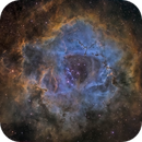 Rosette Nebula -- SHO from DSW,                                Miles Zhou