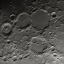 Particolare del terminatore lunare,                                gagba
