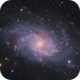 M33 with 30s subs and little ha,                                ChristianDud