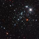 NGC 457 - Civetta,                                astrotaxi