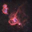 Heart & Soul Nebula - BiColor,                                Jonas Illner