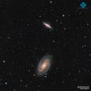 M81 & M82 (Ha+LRGB),                                Francesco di Biase