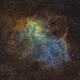 The Lion Nebula Sh2-132,                                Gabe Shaughnessy