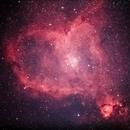 Valentines Day Heart Nebula,                                blairconner