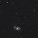 M51 - Whirlpool Galaxy 2020,                                rayzor