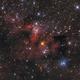 SH2-155 Cave Nebula,                                Young Joon Byun