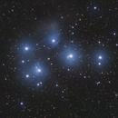 M45 Pleiades,                                Jeff Coldrey
