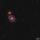 Whirpool Galaxy - M51,                                Doros Theodorou