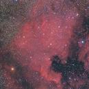 NGC7000 dalla Corsica (reprocessed),                                Gianni Cerrato