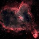IC 1805 Heart Nebula,                                Tristram