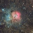 Messier 20 LRGB Trifid Nebula,                                Themis Karteris