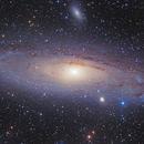 M31 Andromeda Galaxy,                                Ginge Anvik