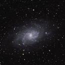 M33 Triangulum galaxy,                                yenship