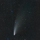 C/2020 F3 Neowise comet short exposure / Canon 100Da + Canon 50mm f/1.4 / SW star adv mini / 3200iso,                                patrick cartou