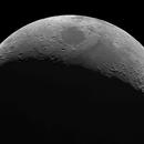 4 day old Moon crescent - Mosaic,                                Hartmuth Kintzel