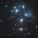 M45 - Les Pléiades,                                Ludovic
