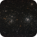 Open clusters h and chi persei  -  NGC 884 / NGC 869 / Double cluster,                                deppski