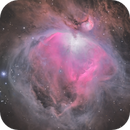 M42 - HArgb,                                Amir Salehi