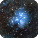 Pleiades Open Cluster M45,                                Valerio Oss