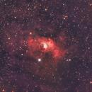 Bubble nebula ngc 7635,                                Filippo Verlezza