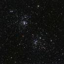 Double Cluster,                                bobzeq25