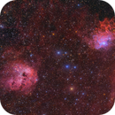 IC405 / 410 LRGBHa - first light Astrel 8300,                                tommy_nawratil