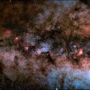 M24 & cinco nebulosas,                                J.J.Losada