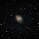 Crab Nebula M1,                                francopanetta