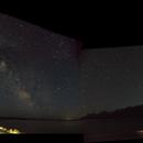 Milky Way dipping into Lake Jackson (Grand Teton),                                Gianlorenzo