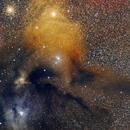 Rho Ophiuchi Region,                                Richard Muhlack