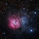 M20 - Trifid nebula,                                Nicholas Jones