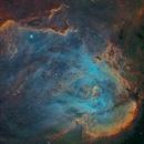 ic2944 (running chicken nebula) SHO_Ha_RGB,                                *philippe Gilberton