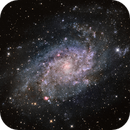 M-33 Triangulum Galaxy HaLRGB,                                Eddie_R
