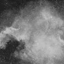NGC 7000 - North America Nebula in Cygnus - H-Alpha,                                Ray Caro