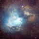M17 Omega Nebula,                                Bo
