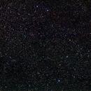 Region left of β Tauri - location of Simeis 147,                                AC1000