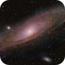 M31 - 3 Panel Mosaic HaLRGB,                                Ivan Nair