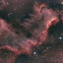 NGC 7000 The Wall,                                Eric COUSTAL ( F5ODA )