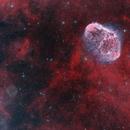 Crescent and Soap Bubble Nebulas (NGC 6888 & G75.5+1.7),                                Chris Sullivan