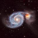 M51 - The Whirlpool Galaxy,                                Chris Bulik