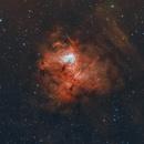 Fossil Footprint Nebula in HOO,                                Chuck's Astrophot...