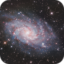 M33 Triangulum Galaxy,                                Crash-dk