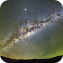 Milky way and airglow,                                Daniele Gasparri