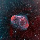 Crescent Nebula,                                VulpescuChristian