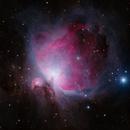 M42 & NGC 1977 - The Orion Nebula & The Running Man Nebula,                                Justin Jurgens