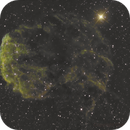 Jellyfish Nebula (Hubble Palette),                                Charles Ward