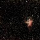 M16 la nébuleuse de l'aigle,                                mathianne